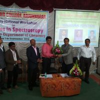 One Day National workshop on Advances in Spectroscopy